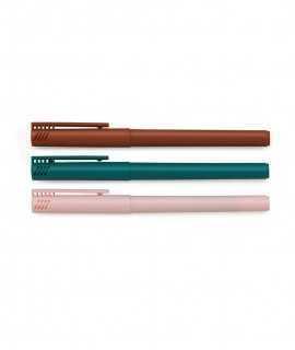 Set de tres bolígrafos
