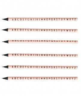 Set lápices de colores. Design Letters