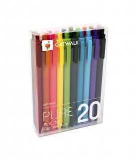 Bolígrafs de colors 20 unitats
