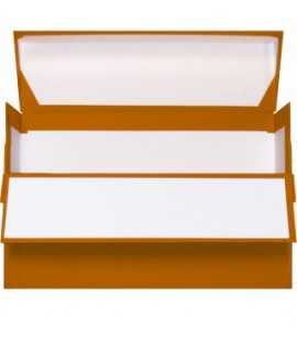 Caja de transferencia, 11 cm. Tamaño: 35x26 cm. Color negro