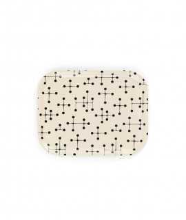 Safata Dot Pattern, Blanca Gran