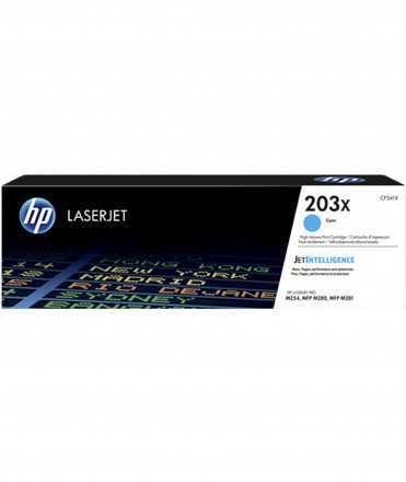 Tòner HP 203X CF541X Cian