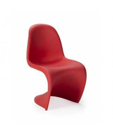 Cadira infantil vermella