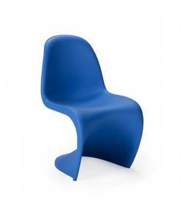 Cadira infantil blava