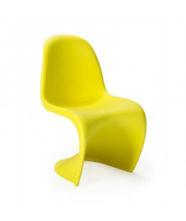 Cadira infantil groga