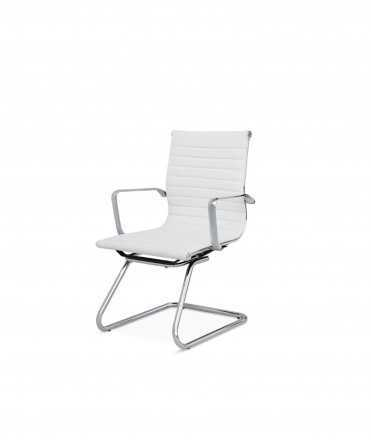 Cadira J3, blanc