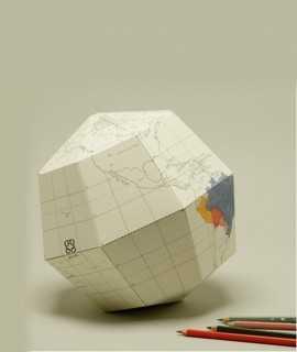 Globus terraqui per muntar