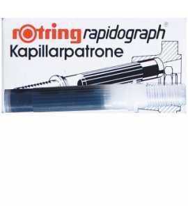 Tinta xina capacitat 3 cartutxos rapidograph