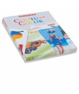 Paper Contucolor, DIN A4, 120 g. Paquet 200 fulls.