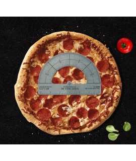 Transportador d'angles per a pizzes