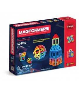 Juego de construcción Magformers, 50 piezas
