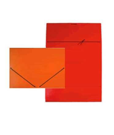 Carpeta amb bossa, DIN A3. Mida: 46x33. Color cuir