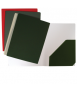 Subcarpeta amb butxaca interior, llom 5 mm. Mida: 32,3x24,7x0,5 cm. Color gris