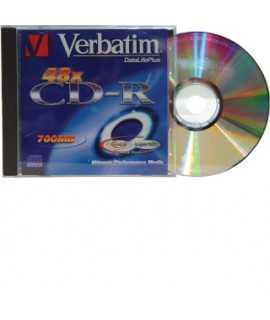 CD-R Verbatim. Capacidad: 700 MB