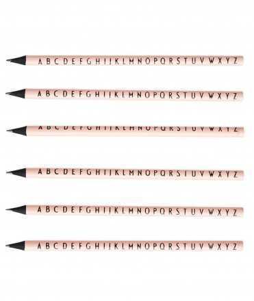 Set llapis de colors. Design Letters