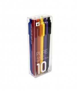 Bolígrafs de colors 10 unitats