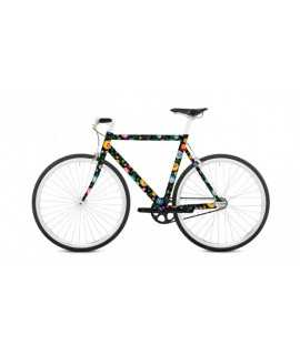 Vinil per a bicicleta - Floretta