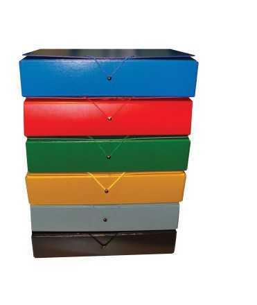 Carpeta de projectes desmuntable, llom 7 cm. Mides: 34x24,5x7 cm. Color verd