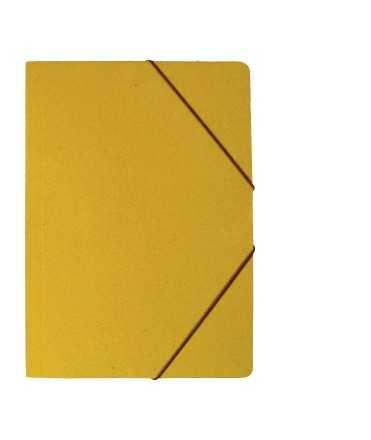 Carpeta de cartró, amb solapes, DIN A3. Mida: 46x33 cm. Color cuir
