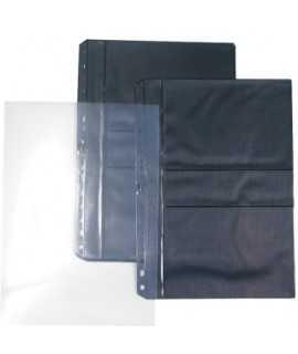 Fundas de PVC para fotografías y negativos (10x15 cm). Tamaño: 32x23 cm. 16 agujeros. 6 unidades