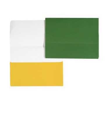 Subcarpeta amb bossa. Mida: 33,8x25,6 cm. Color groc