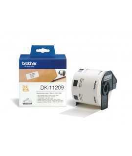 Etiquetas Epson de papel térmico, 800 unidades. Medidas: 29x62 mm.