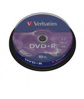 DVD Verbatim.Capacitat 4.7 GB.25 unidades.