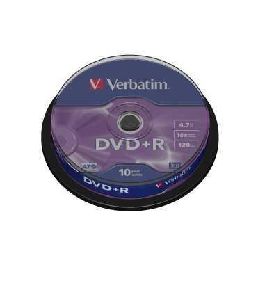 DVD Verbatim.Capacitat 4.7 GB.25 unitats.