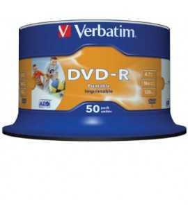 DVD-R Verbatim. Capacidad 4,7 GB. 50 unidades.