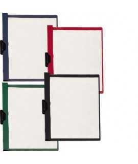 Dossier con clip, DIN A4. Tamaño: 31x24 cm. Color negro
