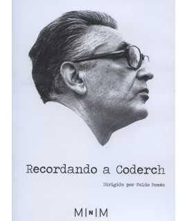 DVD Recordando a Coderch