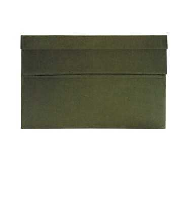 Caixa de transferència, 22 cm. Mida: 39x26x22 cm. Color blau