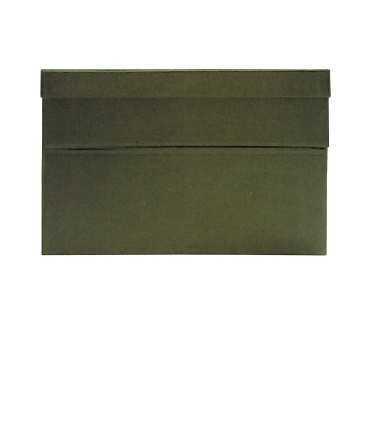 Caixa de transferència, 22 cm. Mida: 39x26x22 cm. Color gris