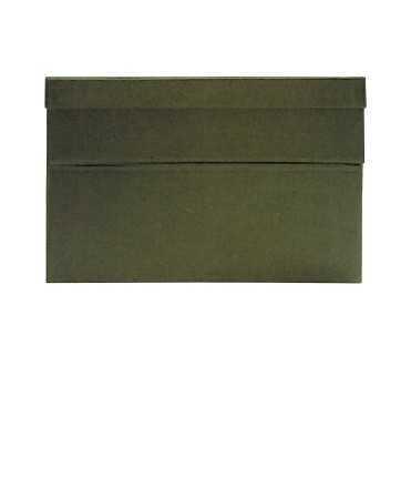Caixa de transferència, 22 cm. Mida: 39x26x22 cm. Color vermell