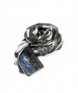 Fulard Sender de Llum negra