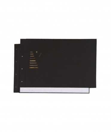 Tapes tipus llibre, DIN A3. Color negre