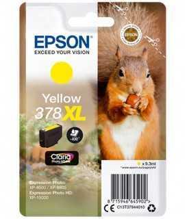 Cartutx Epson 378xl groc T379440