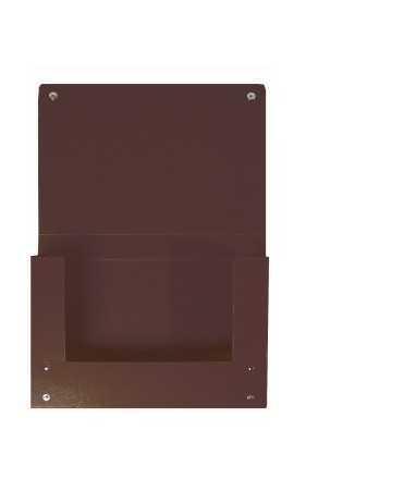 Carpeta de projectes, foli. Llom 4 cm. Mida: 34,5x25x4 cm. Color negre