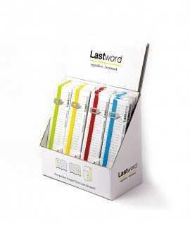 Punt de llibre Lastword
