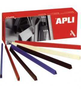 Llom de plàstic de colors, DIN A4. Llom 10 mm. Color negre