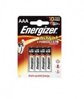 Piles AAA Energizer 1,5V, LR03. 4 unitats