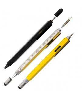 Bolígraf One Touch Tool Pen Negre