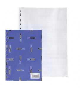 Recambio Alfa, folio. 50 hojas. Acabado cuadriculado