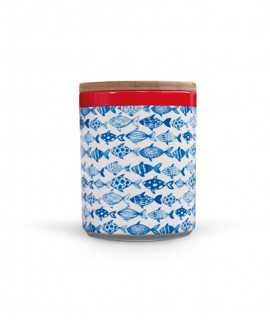 Recipient de porcellana Fish