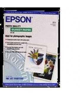 Paper S041125  Epson  Glossy, DIN A3, 141 g. 20 fulls. Acabat brillant