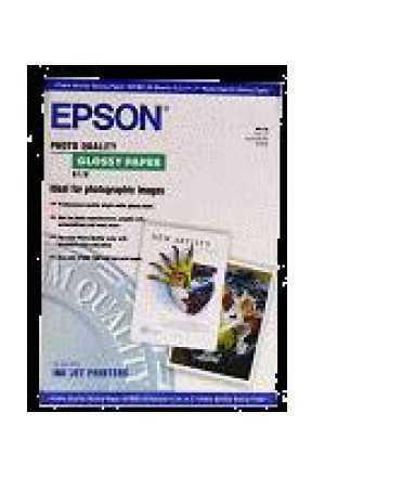 Paper S041125  Epson  Glossy, DIN A3, 141 g. 20 fulls. Acabat brillant