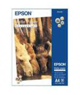 Papel fotográfico Epson Matte Paper A4 50 hojas