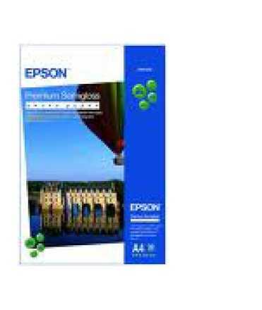 Paper Fotogràfic Epson Premium Semi-Gloss A4 20 fulls