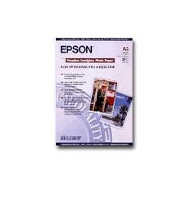 Paper fotogràfic Epson Premium Semiglass Photo Paper A3 20 fulls