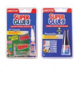 Goma d'enganxar Super Glue. Capacitat: 3 g